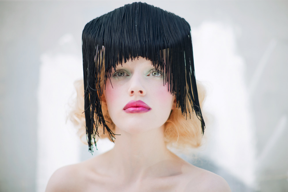 Black Fringe Coolie