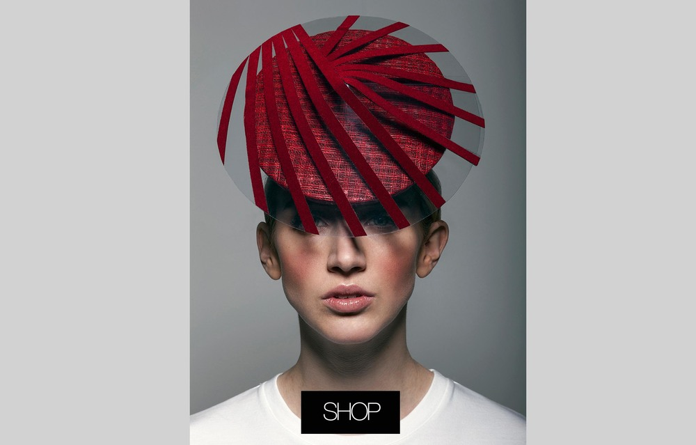 Red Perspex Percher