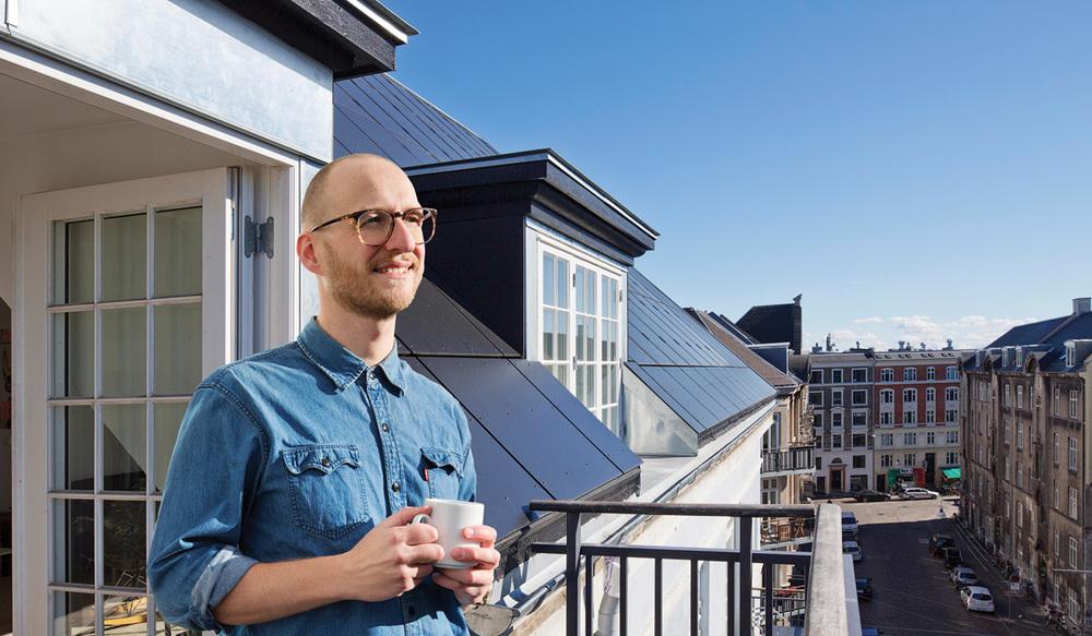 Nyt tag med solceller