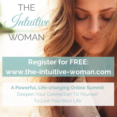 """The Intuitive Woman: Discover how to tap into the deep, inner-wisdom that every woman has access to."" Join me for this powerful, eye-opening, life-changing tele-summit..."