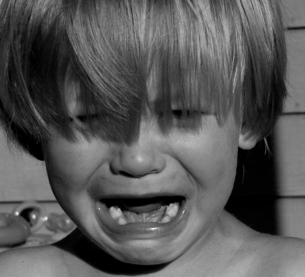 Gutt som gråter