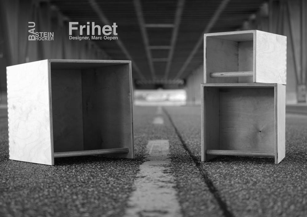 "Image Shooting mit Designer Möbel ""Frihet"""