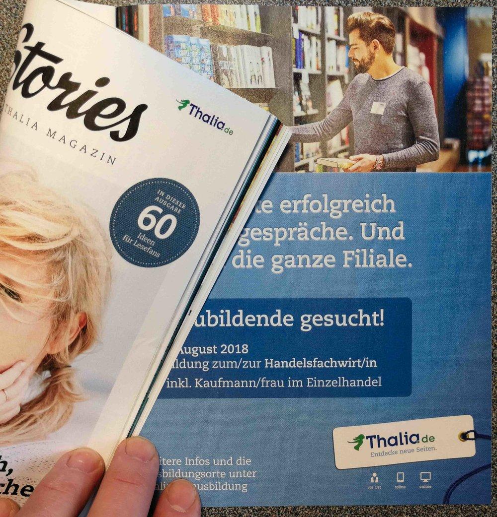 3-Tage Corporateshooting für neuen Karrierebereich bei Thalia Bücher.