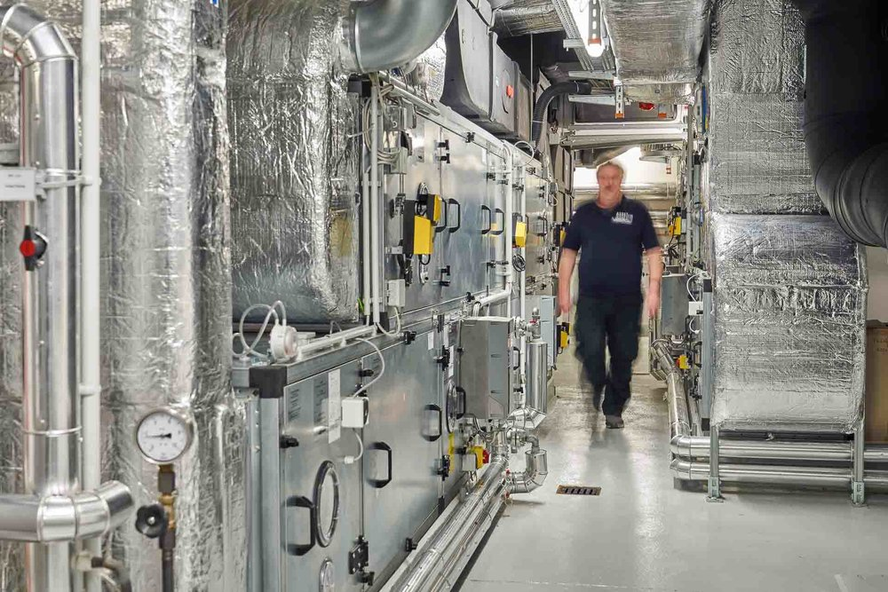 Corporatefotografie bei Facility Management Unternehmen