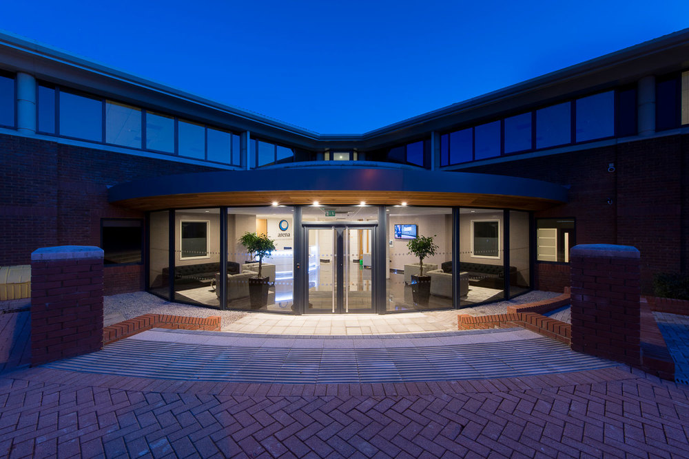 architecture photography - arena business centres, basingstoke