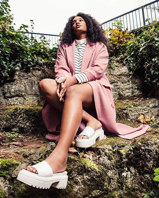 Exploring w/ @cheyennejoseph looking like a superstar. ✨  #fashion #photoshoot #portraitgames  Outfit : @topshop  Makeup @maccosmetics
