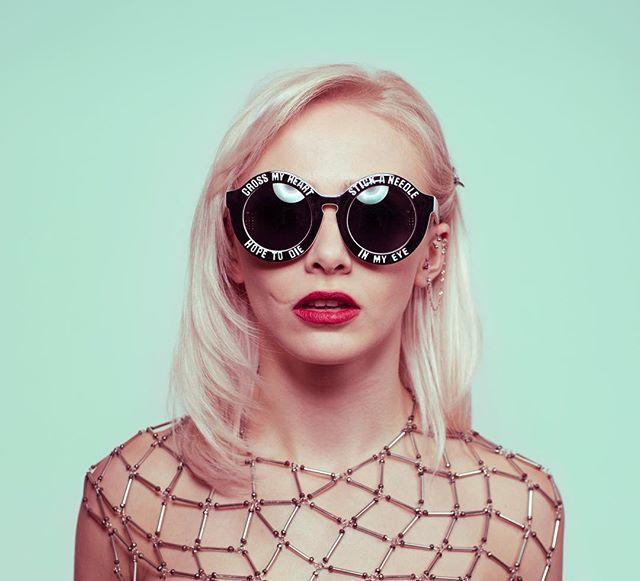 Pop vibes w/ @indigosuicide in the studio.. #portraitgames #photoshoot #suicidegirls #pop 😎