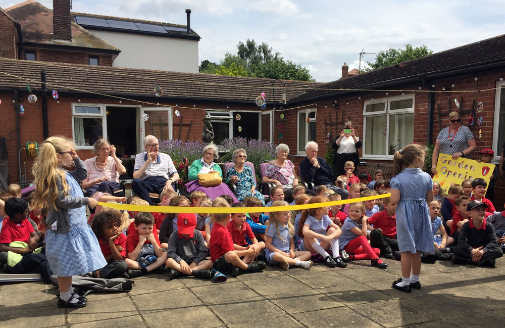 Litte Gonerby School - Regular visits from our friends at Little Gonerby School