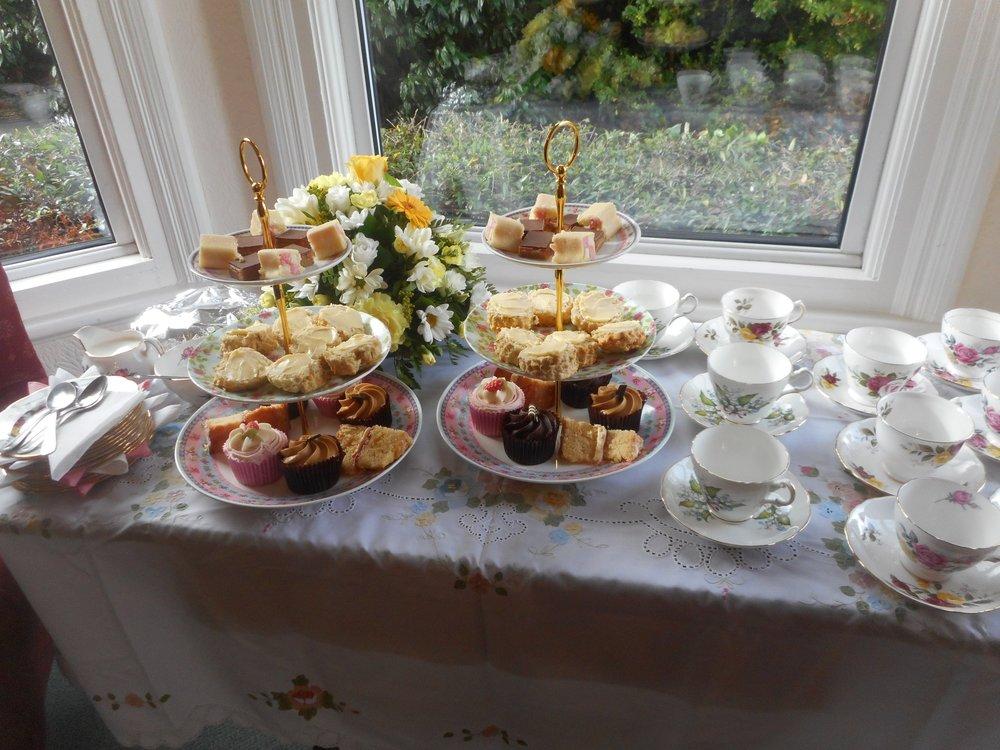 Afternoon tea....