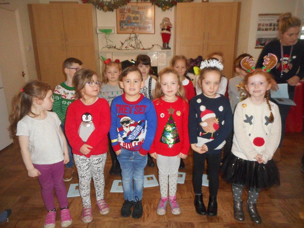 We do enjoy the children singing