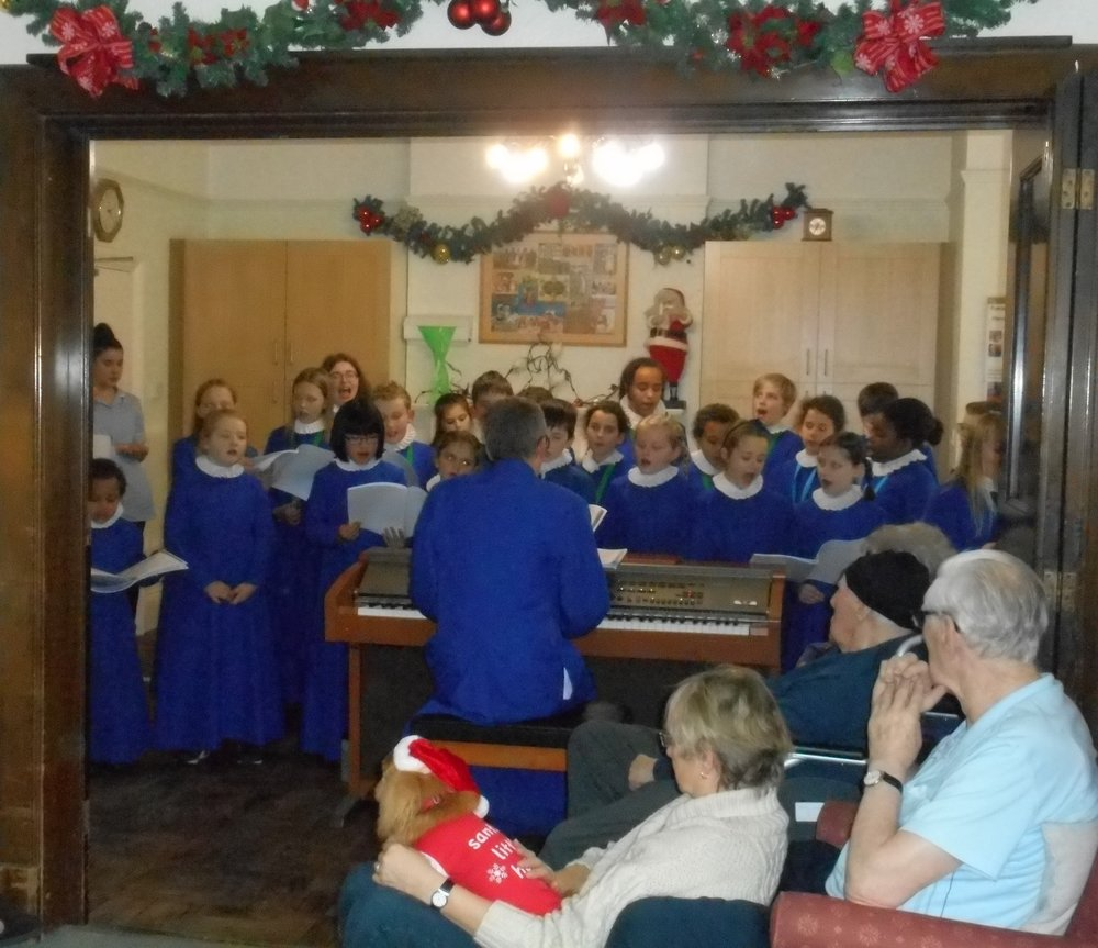 St Wulframs Church Junior Choir was wonderful