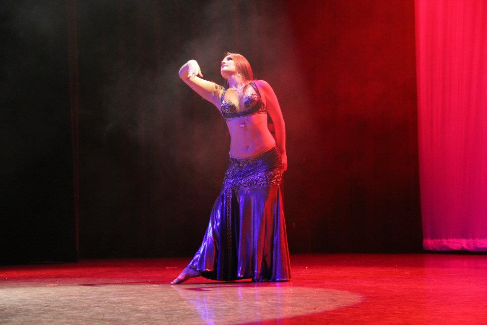 Danna Yasbet performing in Egyptian Nights