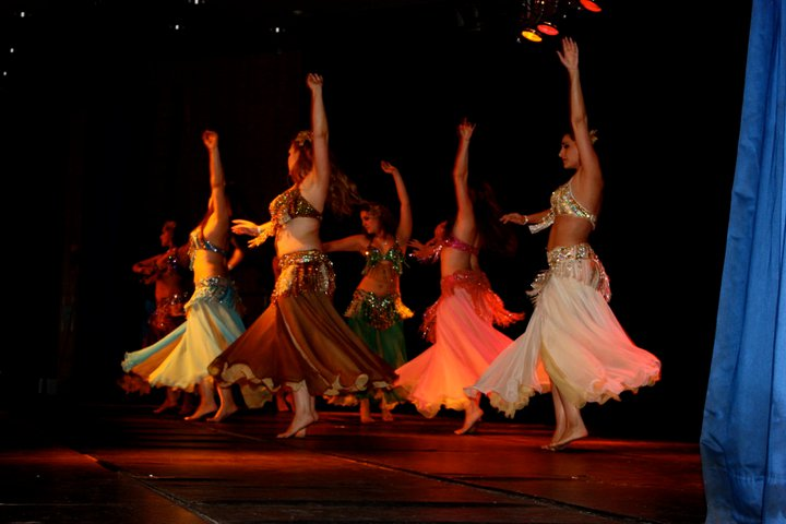 Azhar Dance Ensemble Performing at Aladins Oriental Festival 2008.jpg