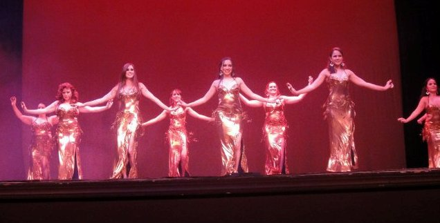 Intermediate Students at MDC Show 2010 Beladi.jpg