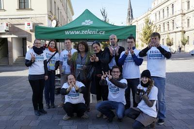 Horká fáze kampaně stála na dobrovolnících