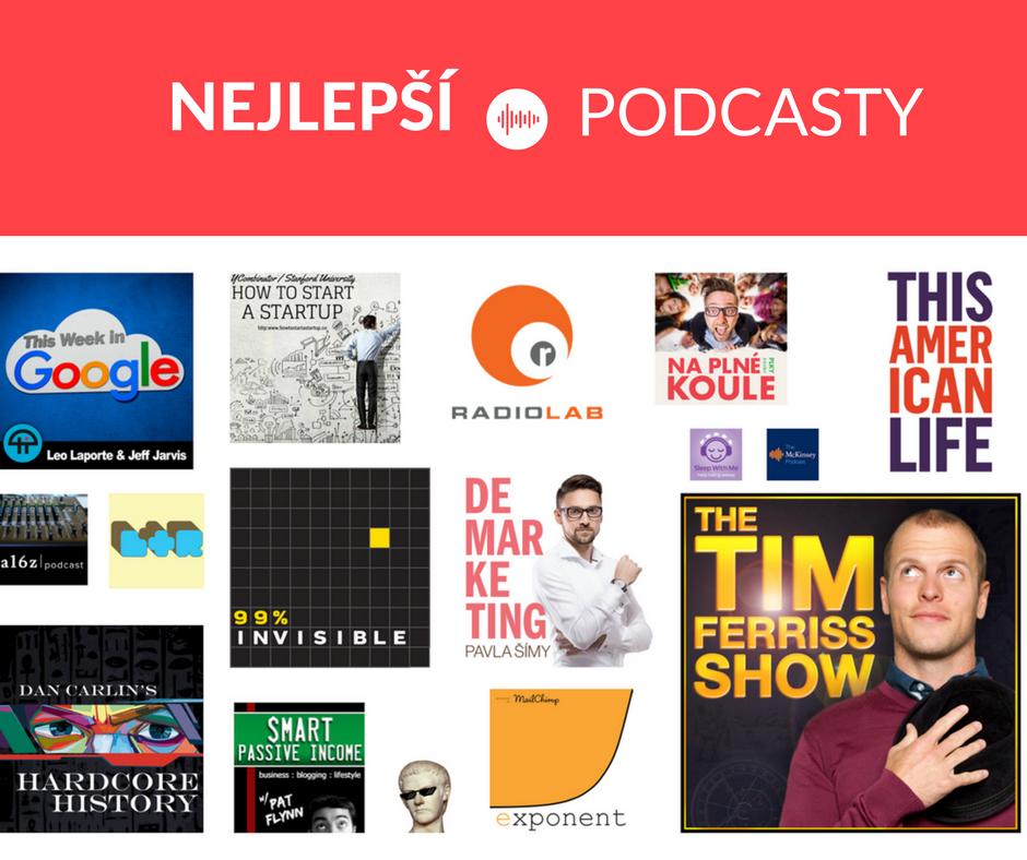 Nejlepší podcasty