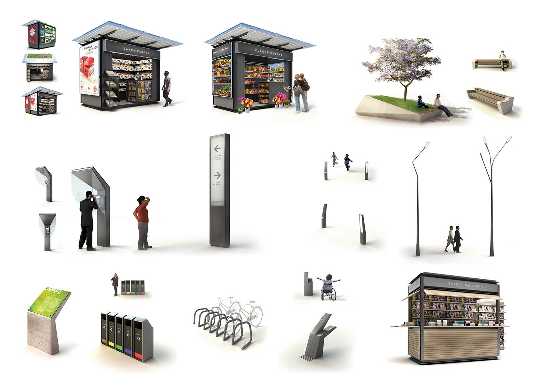 Projetos mader arquitetos associados arquiteto porto for Mobiliario urbano tipos