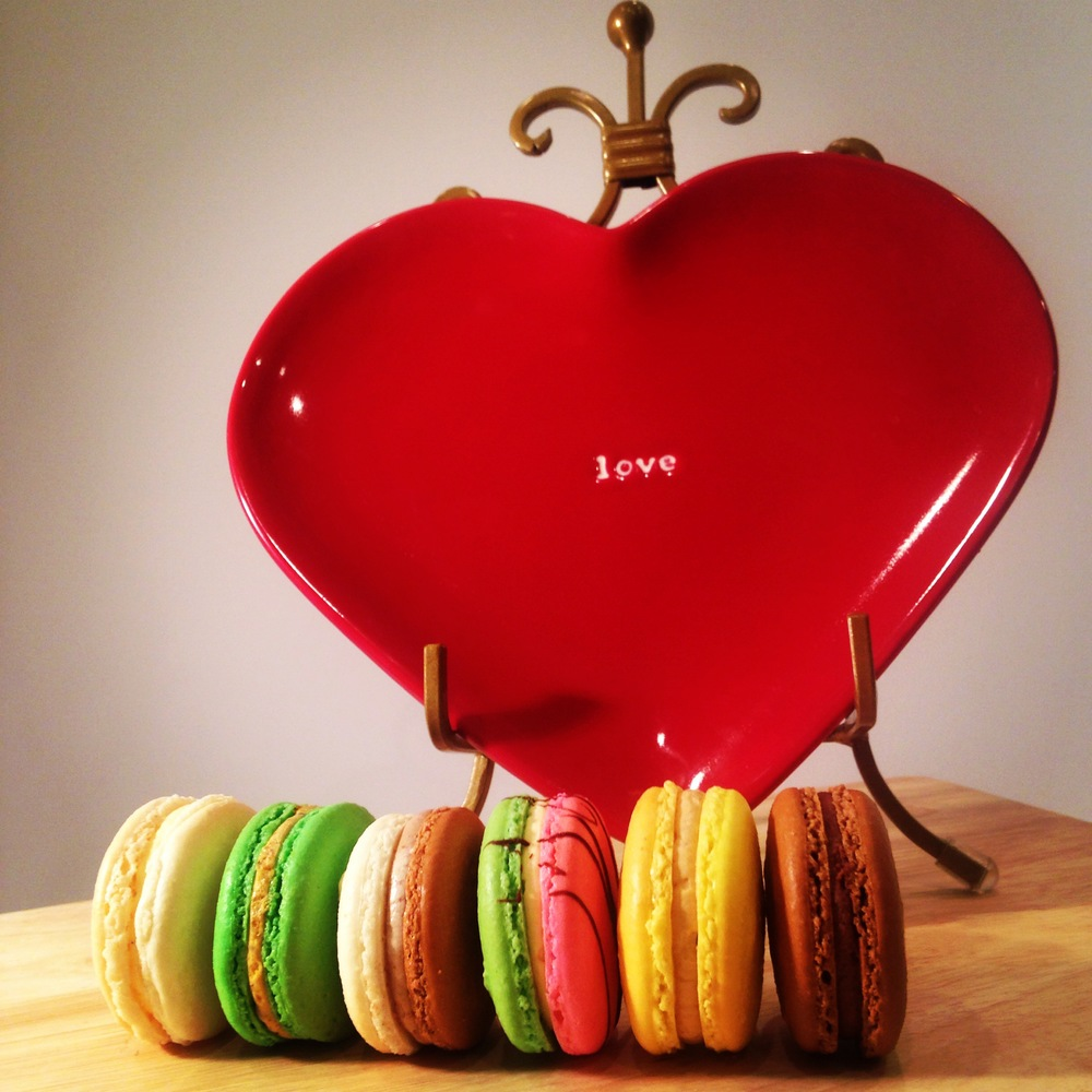 Kiss My Cake's Staple Flavor French Macarons