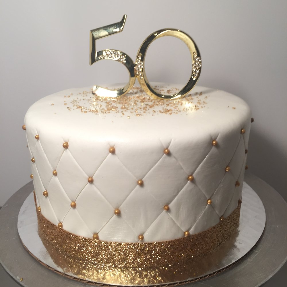 Anniversary Quilted Cake