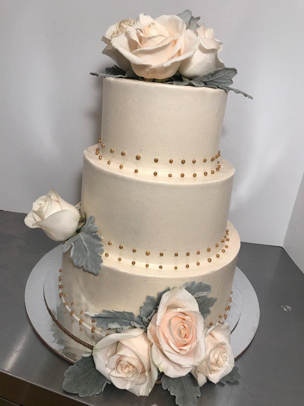 Flower Studded Cake