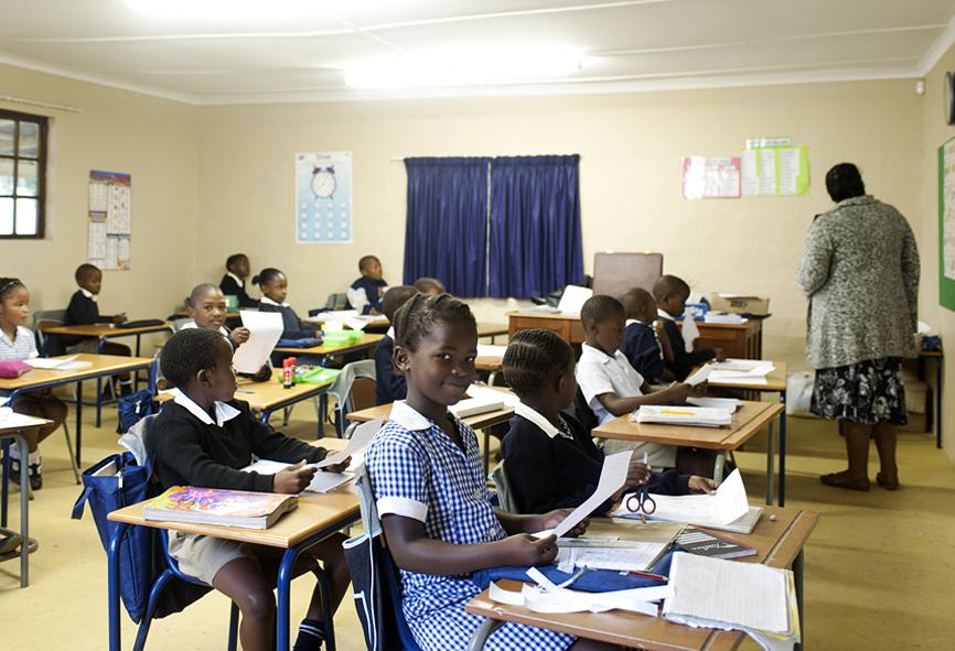 schoolclass Eshowe