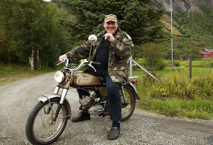 Han Ove i Bø, Nord Norge