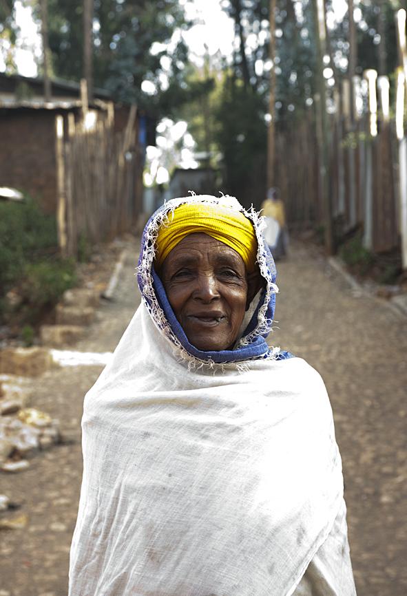 woman in Gulele