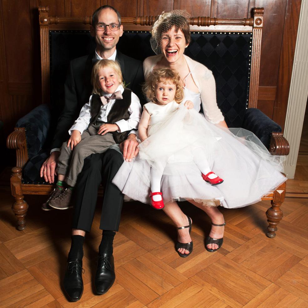 Lasse, Marika, Vilfred & Ebba