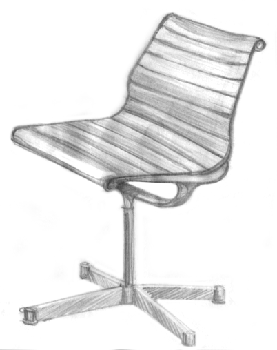 quick chair sketch