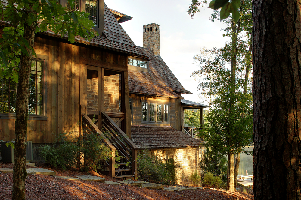 Jeffrey Dungan Architects  Lake Martin, Alabama