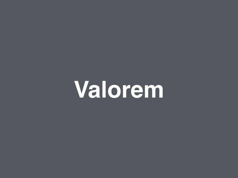 Valorem