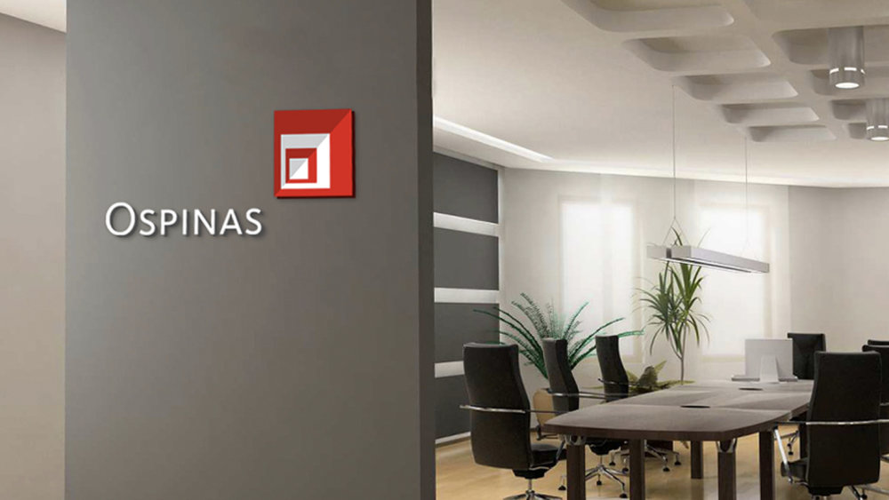 ospinas - Revitalizing a construction company's brand to project a more modern image.