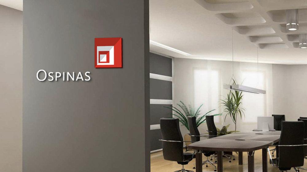 ospinas - Revitalización de la marca de una empresa constructora para modernizar su imagen.