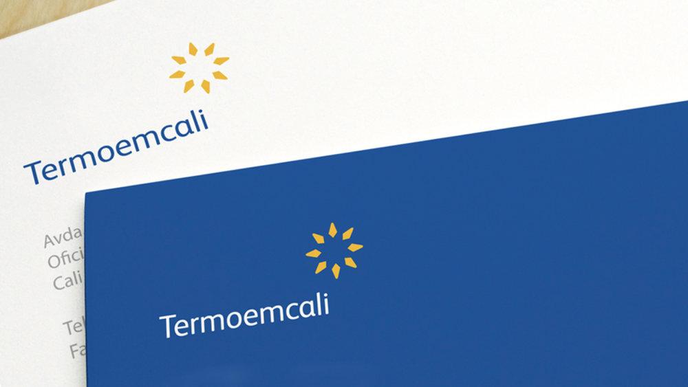 termoemcali - Rediseño de una marca de energía para apoyar la nueva visión.