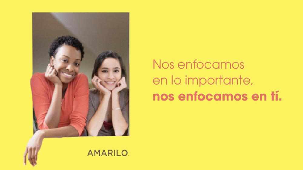 amarilo - Creación de una experiencia de marca integral para una empresa constructora.