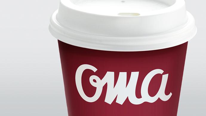 oma - Rediseño de la identidad de una cadena de restaurantes para atraer nuevos consumidores.