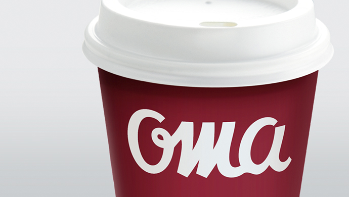 oma - Revitalizating a coffee and pastry brand to attract new segments of consumers.