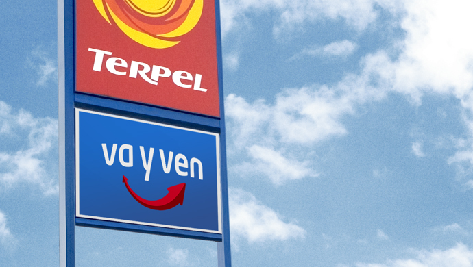 va y ven - Creating a new convenience store brand for a chain of gas stations.
