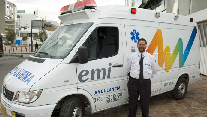 emi - Revitalizing the identity of an integrated health services company to support its regional consolidation.