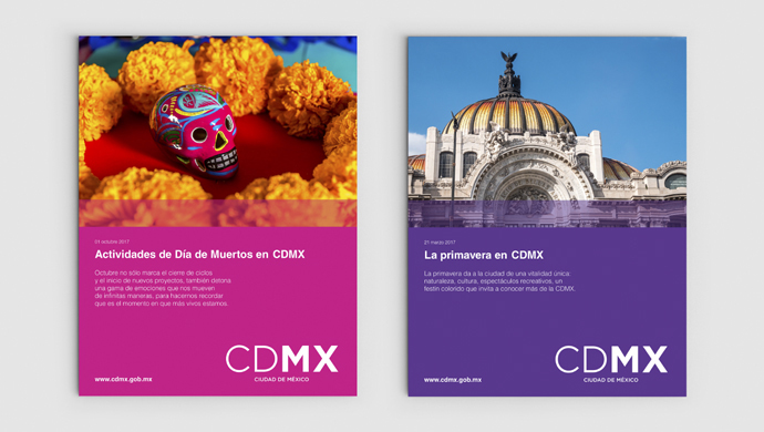 cdmx - Creating an iconic brand for one of the largest cities in the world.