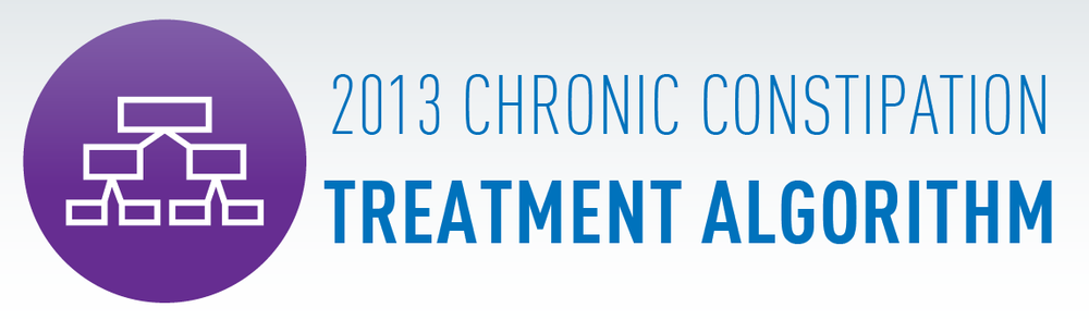 Click here to view the full 2013 Chronic Constipation Treatment Algorithm.
