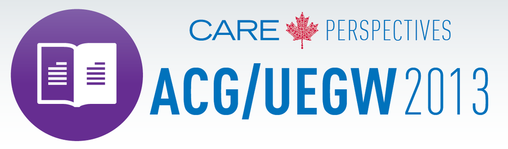 Click here to view the full CARE Perspectives ACG/UEGW 2013 Conference Report.