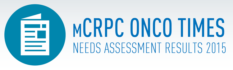 Click here to view the full mCRPC Radiation Oncology Onco Times 2015 Needs Assessment Results 2015.