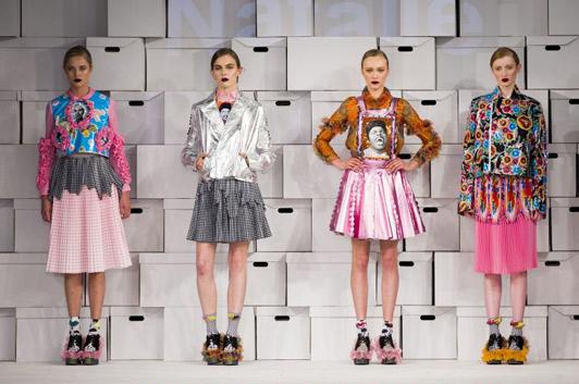 Graduate Fashion Week In East London S Thriving Fashion District London Fashion Print