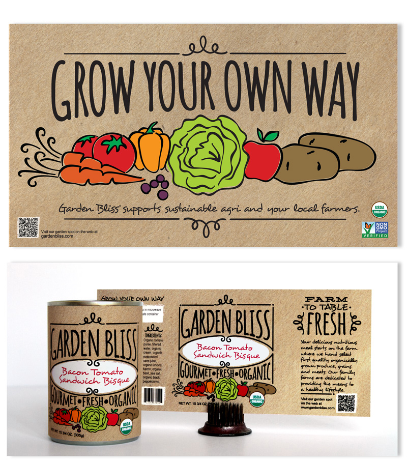 Garden Bliss Marketing & Packaging