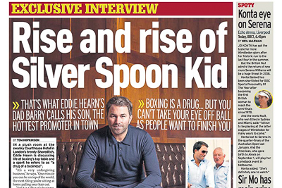 Eddie Hearn Sunday Mirror