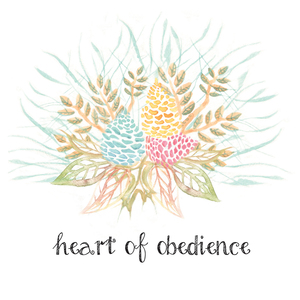 Heart of Obedience Verse Printable