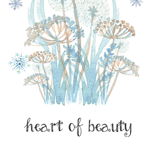 Heart of Beauty Verse Printable