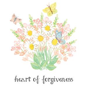 Heart of Forgiveness Verse Printable