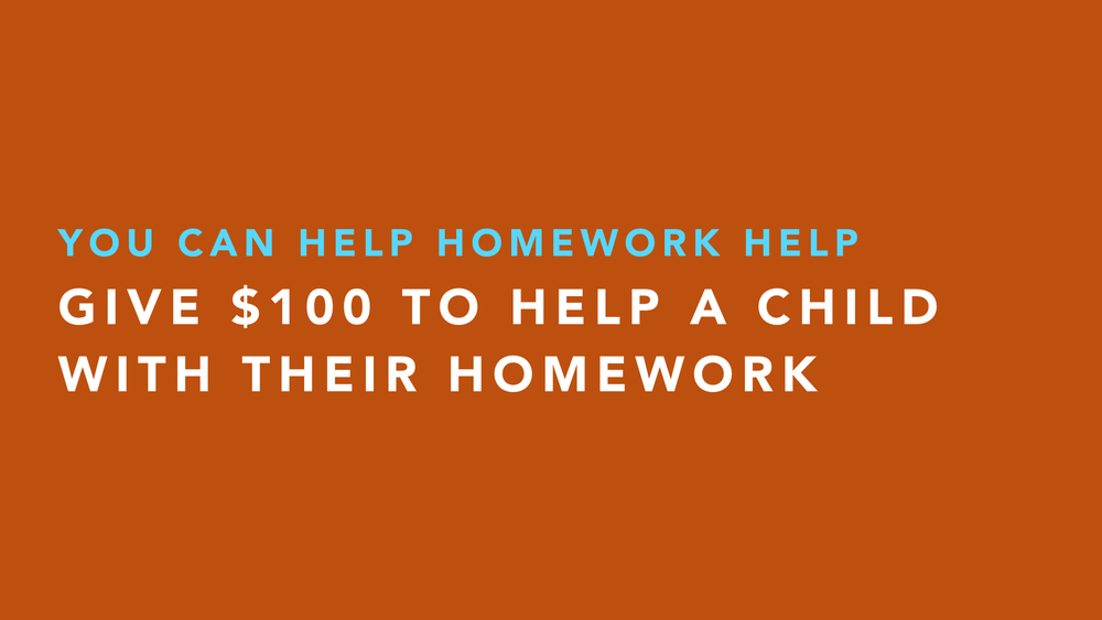 Homework help volunteer